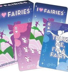 NMR Distribution I Heart Fairies Playing Cards
