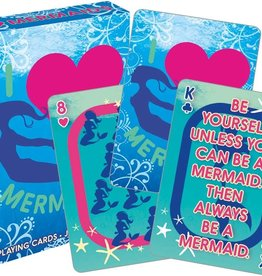 NMR Distribution I Heart Mermaids Playing Cards
