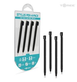 Tomee Stylus Pen Set for Nintendo DSi®/Nintendo DS® Lite (Black) (4 -Pack)