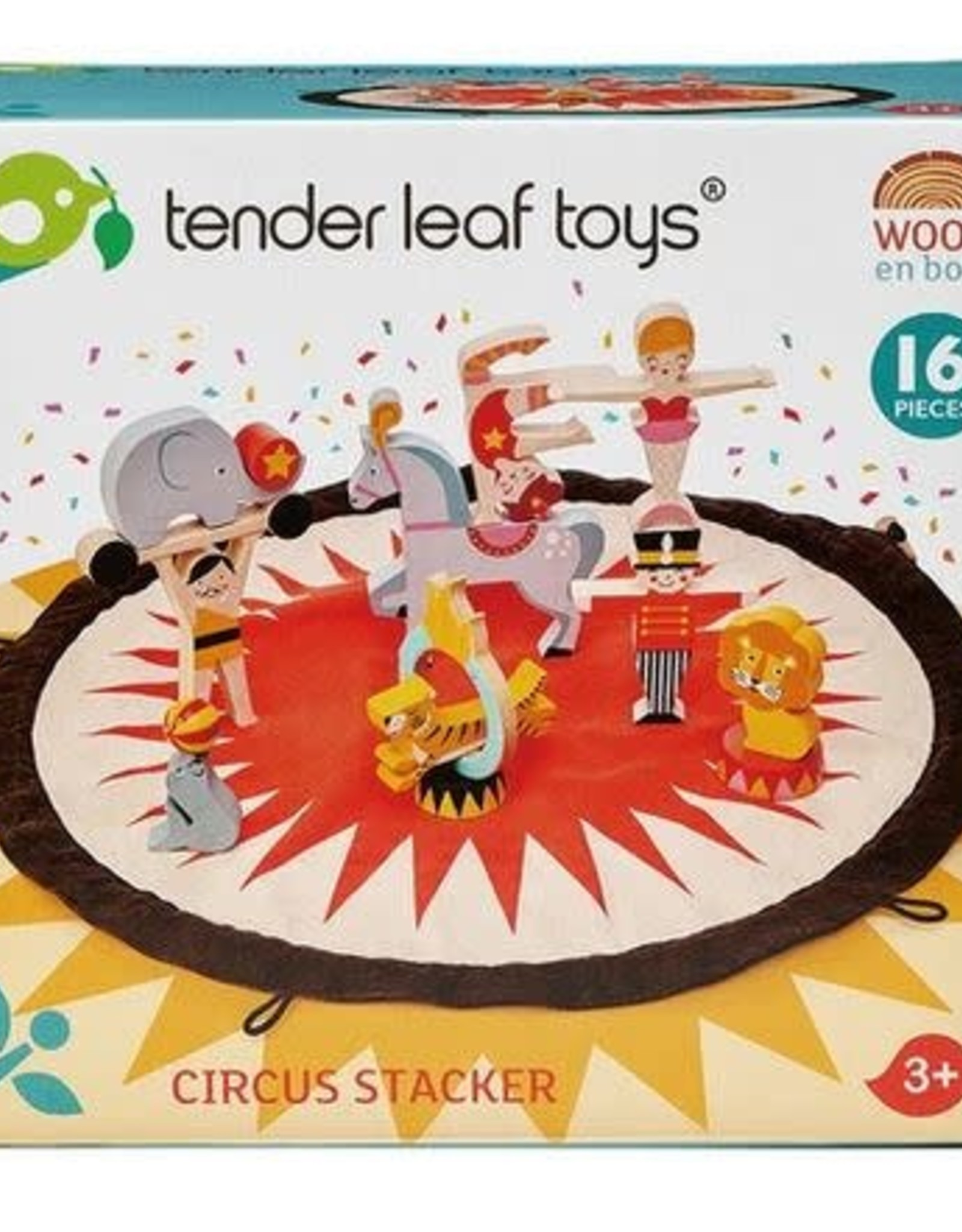 Tender Leaf Toys Circus Stacker