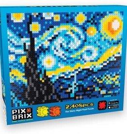 Pix Brix Starry Night Pixel Puzzle
