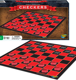 Continuum Family Traditions Checkers