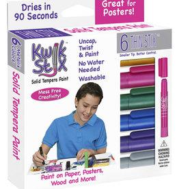 Kwik Stix Kwik Stix Thin Metallic 6 pack