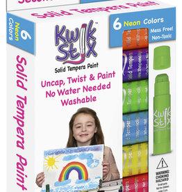 Kwik Stix Kwik Stix Neon 6 pack