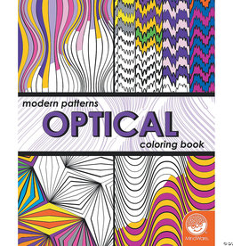Mindware Modern Patterns: Optical Coloring Book