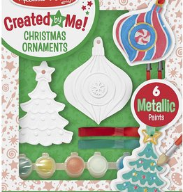 Melissa & Doug Christmas Ornaments - DYO