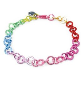 Charm It Charm it! Rainbow Chain Bracelet