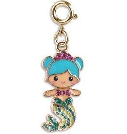 Charm It Gold Swivel Mermaid Charm