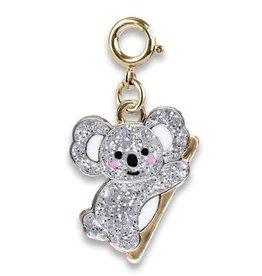 Charm It Gold Glitter Koala Charm