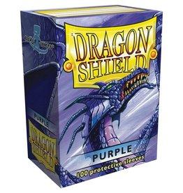 Arcane Tinmen Dragon Shields: (100) Purple