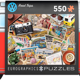 Eurographics Inc Road Trips 550pc Puzzle in Collectible Tin