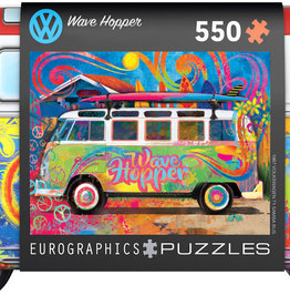 Eurographics Inc Wave Hopper 550pc Puzzle in Collectible Tin