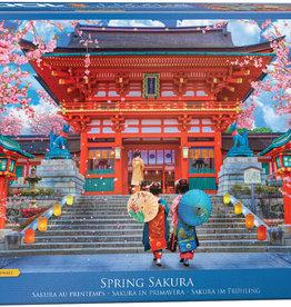 Eurographics Inc Spring Sakura 1000pc Puzzle
