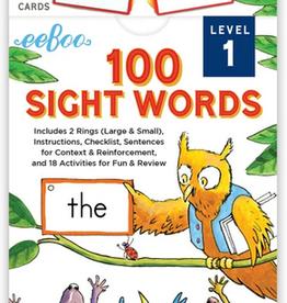Eeboo Sight Words Level 1