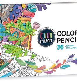 Mindware Color By Number 36 Colored Pencil Set