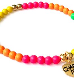 Charm It Charm It! Neon Stretch Bracelet 4mm
