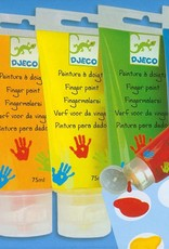 DJECO 6 Finger Paint Tubes (blue box)