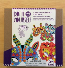 DJECO DIY Jungle Animals Mosaic Masks
