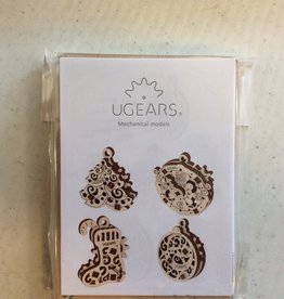 Ugears UGear U-Fidgets Happy New Gear