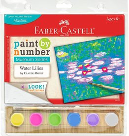 Faber-Castell Paint by Number Museum Series Water Lilies