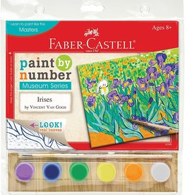 Faber-Castell Paint by Number Museum Series Irises