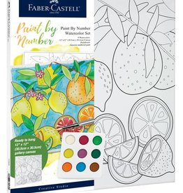 Faber-Castell Watercolor Paint by Number: Produce