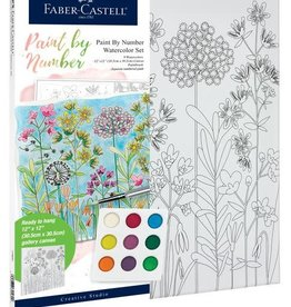 Faber-Castell Watercolor Paint by Number: Farmhouse Floral