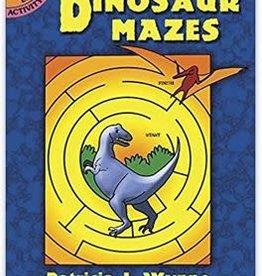 Dover Publications Dinosaur Mazes