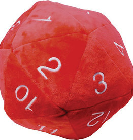 Ultra PRO Jumbo D20 Novelty Dice Plush - Red with White