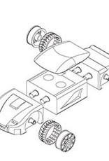 Playmonster 3pk Rescue Mini Automoblox
