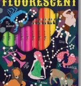 Eeboo Zodiac 12 Fluorescent Color Pencils