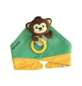 Malarkey Kids Monkey Buddy Bib