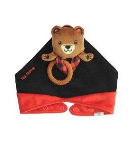 Malarkey Kids Brown Bear Buddy Bib