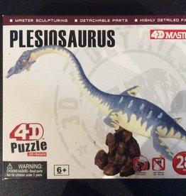 4D Plesiosaurus 4D Puzzle/Figure