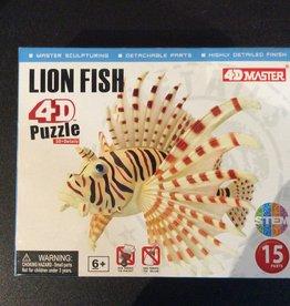 4D Lionfish 4D Puzzle/Figure