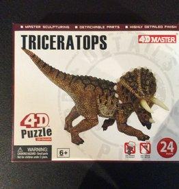 4D Triceratops 4D Puzzle/Figure