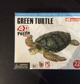 4D Turtle 4D Puzzle/Figure