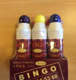 John Hansen Set of 6 Bingo Markers
