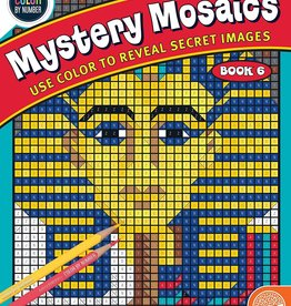 Mindware Color By Number: Mystery Mosaics book 6