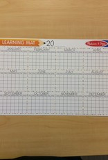 Melissa & Doug Calendar Learning Mat