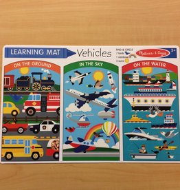 Melissa & Doug Vehicles Learning Mat
