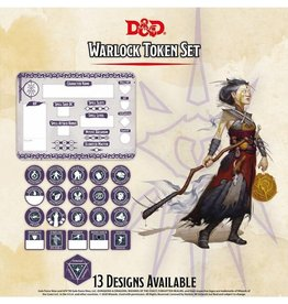 GaleForce 9 D&D: Character Tokens: Warlock