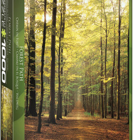 EuroGraphics Forest Path 1000pc Puzzle