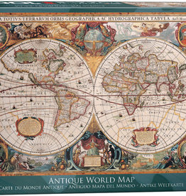 EuroGraphics Antique World Map 1000pc Puzzle