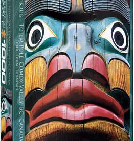 EuroGraphics Totem Pole 1000pc Puzzle