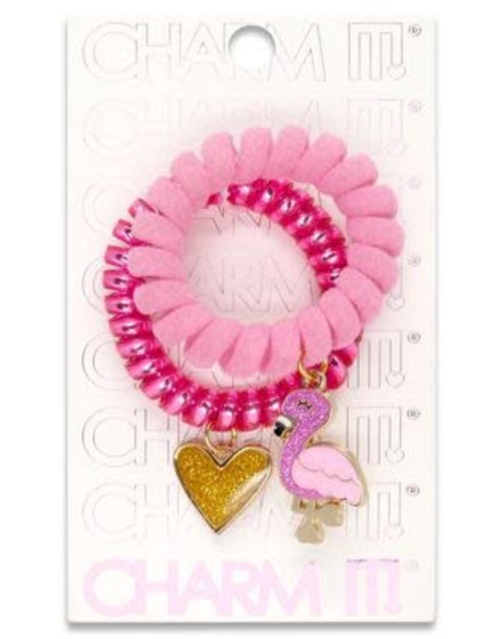 Charm It Charm It! Flamingo Coil Cord Set