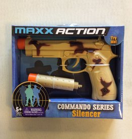 MAXX Action 9MM Pistol with Silencer