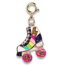 Charm It Gold Rollerskate Charm
