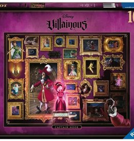 Ravensburger Villainous Captain Hook 1000pc puzzle