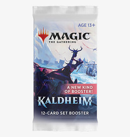 Wizards of the Coast Magic the Gathering: Kaldheim Set Booster (release 2-5-21)